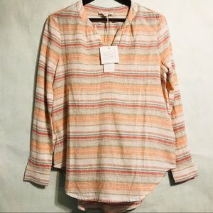 NWT beachlunchlounge | Striped Blouse